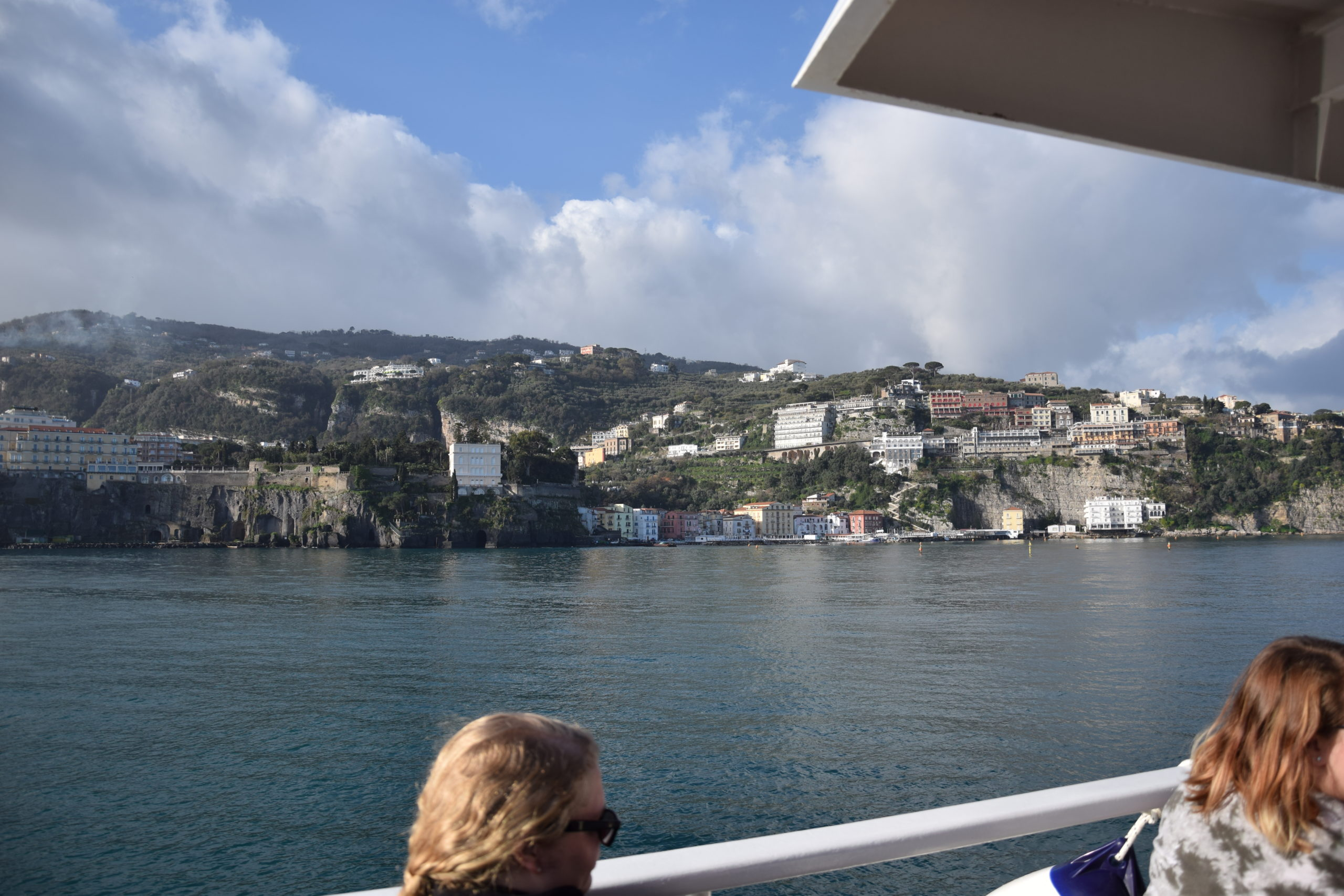 Capri from the Ferry
