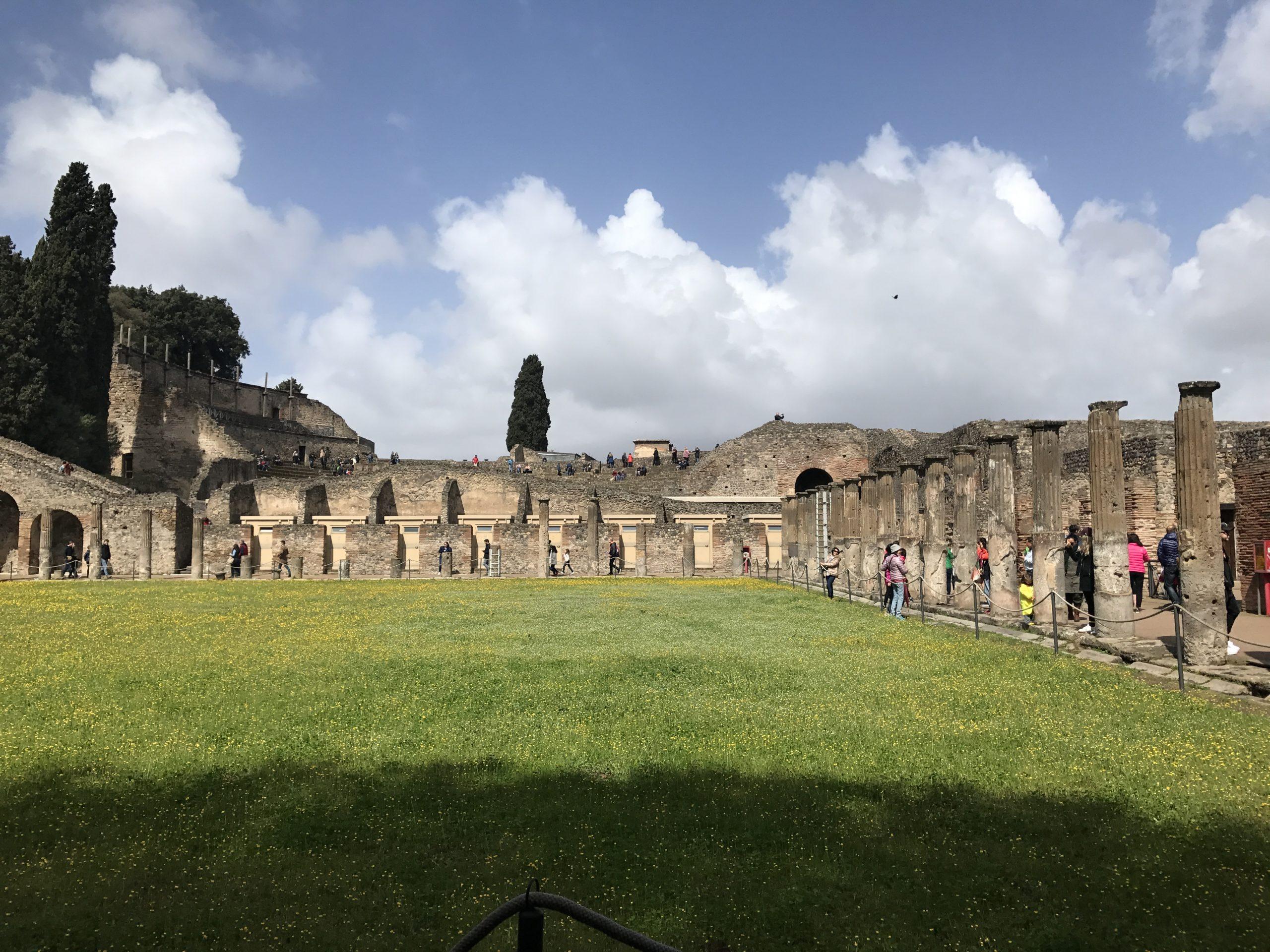 Pompei view